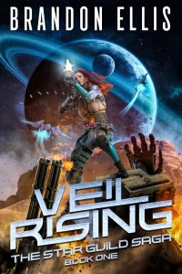 Veil Rising ebook cover