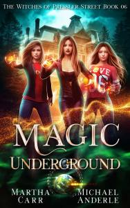 Magic Underground ebook cover
