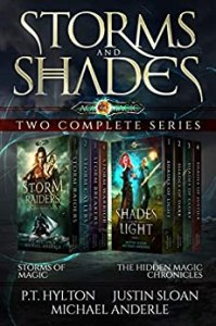 Shades and Storms ebook cover
