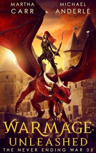 warmage unleased ebook cover
