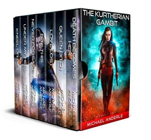 Kutherian Gambut boxed set 1-7 e-book cover