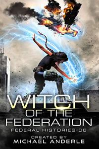 Witch of the Federation ebook cover 6