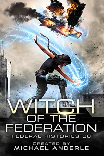 Witch of the Federation 6 ebook cover
