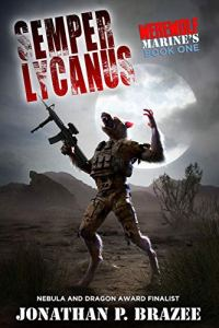 Werewolf of Marines e-book cover