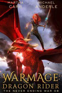 war mage dragon rider e-book cover