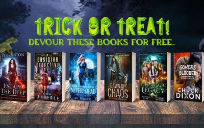 Something Spooky This Way Comes… 6 Days of Free Books!