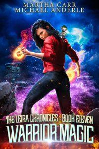 warrior magic e-book cover