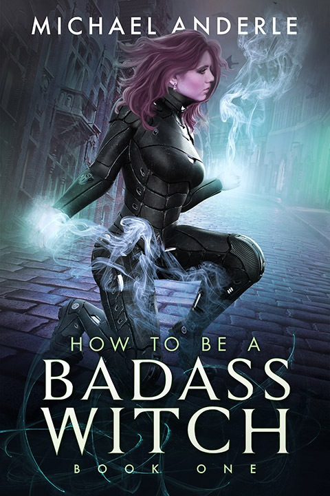 Bad ass witch e-book cover