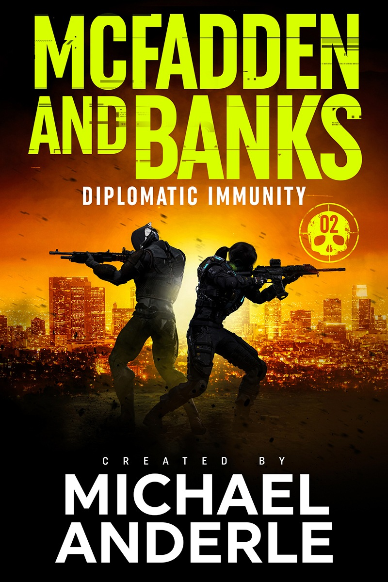 Diplomatic immunity e-book cover