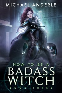 How to be a badass witch book 3 e-book cover