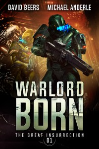 War lord born e-book cover