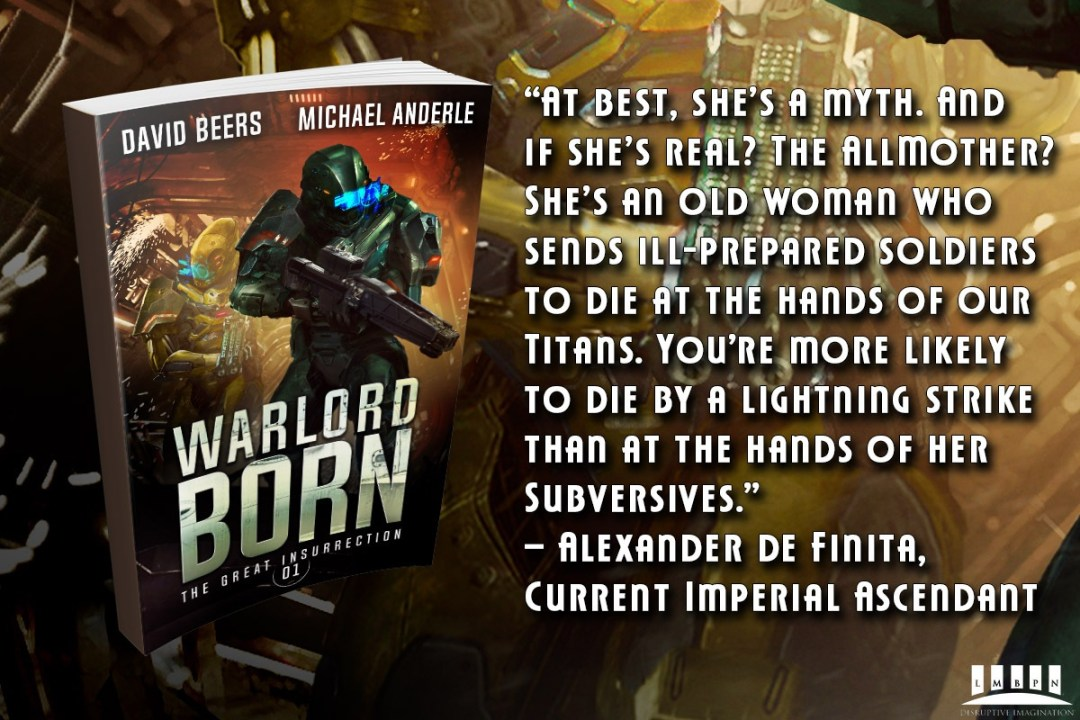 Warlord Born e-book cover