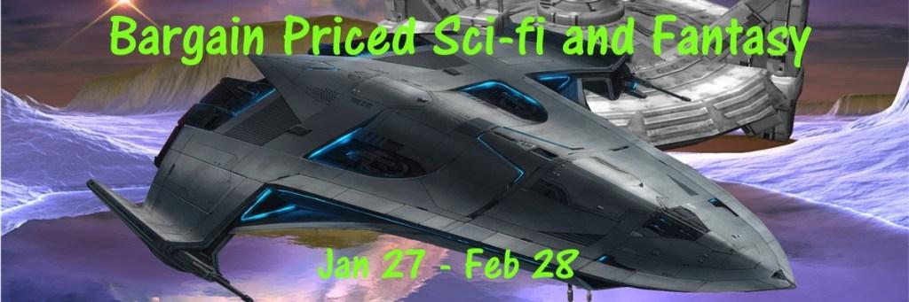 Sci-fi and Fantasy Bookfunnel Promo