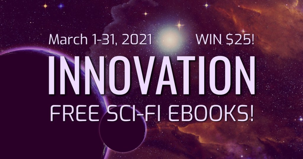 Innovation promo and giveaway banner