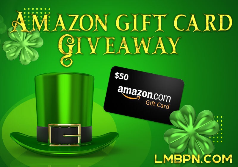 March Shenanigans $50 Amazon Giftcard Giveaway