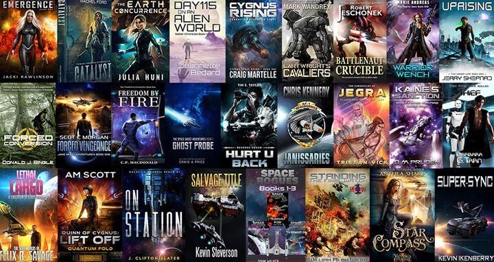 Sci-fi Bookbundel Giveaway banner