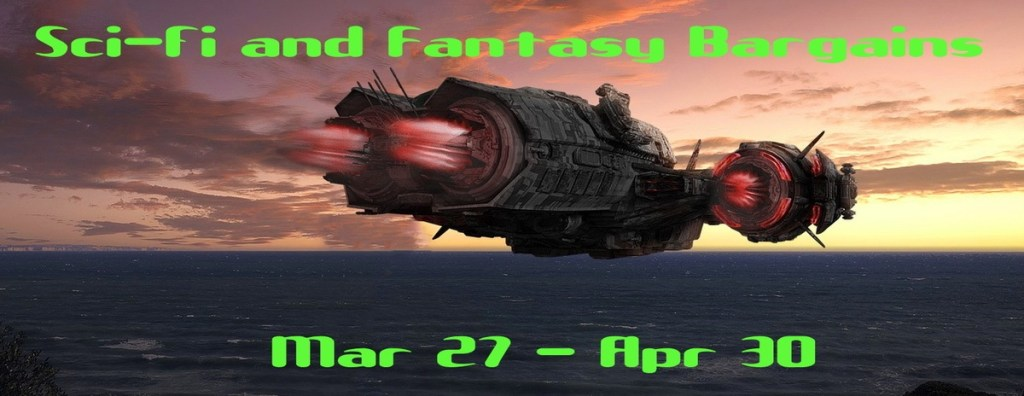 Bookfunnel Sci-fi and Fantasy Banner