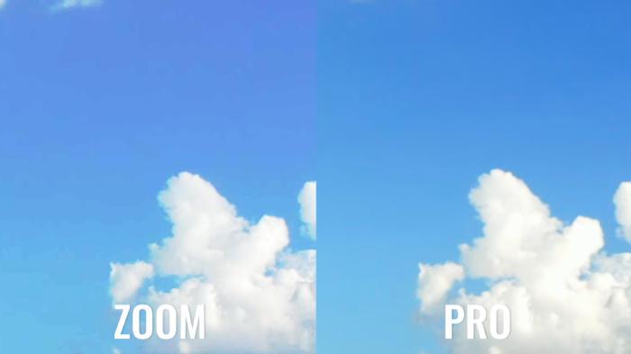 Pro vs Zoom Dlog-M vs D-Cinelike