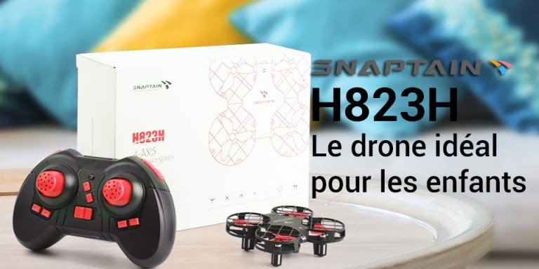 snaptain h823h test drone