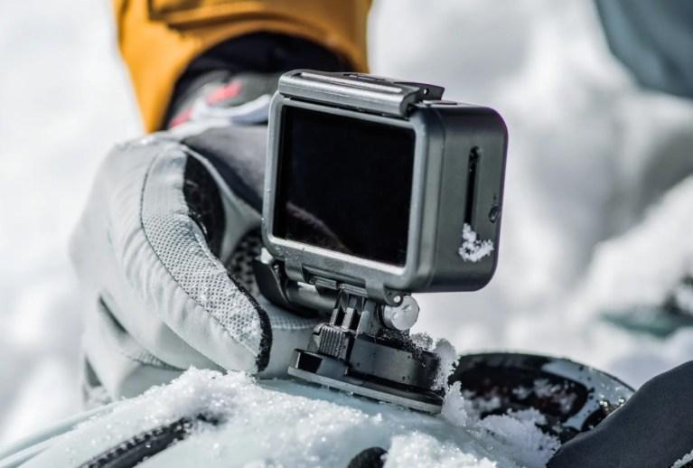 Caméra embarquée osmo action test