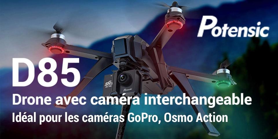 test du drone Potensic D85