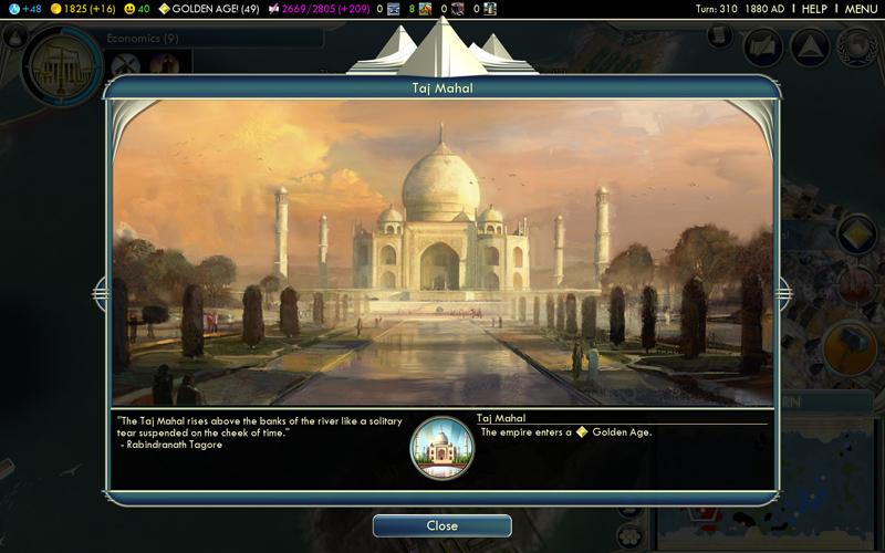 Civilization V - Rapport express (5/6)