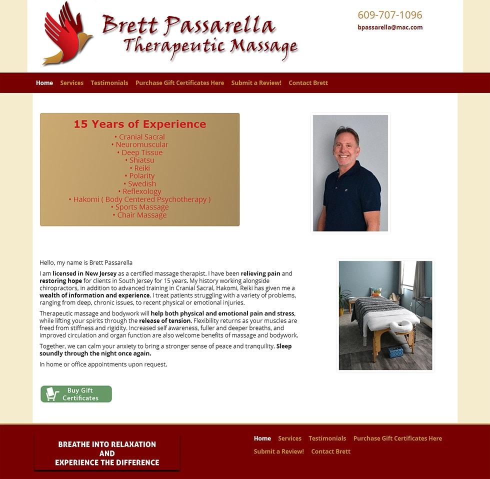 Brett Passarella Therapeutic Massage