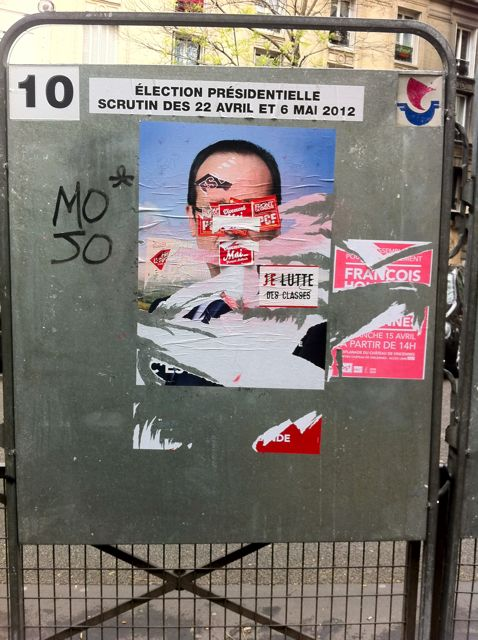 Better Know A District: Graffiti, Defacement, and the French Presidential Elections in the 20th Arrondissement of Paris (3/6)
