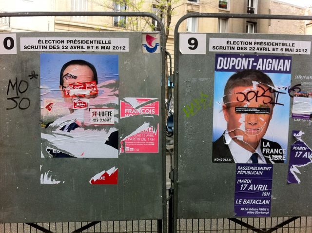 Better Know A District: Graffiti, Defacement, and the French Presidential Elections in the 20th Arrondissement of Paris (5/6)