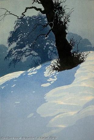 Woodprint by Oscar Droege