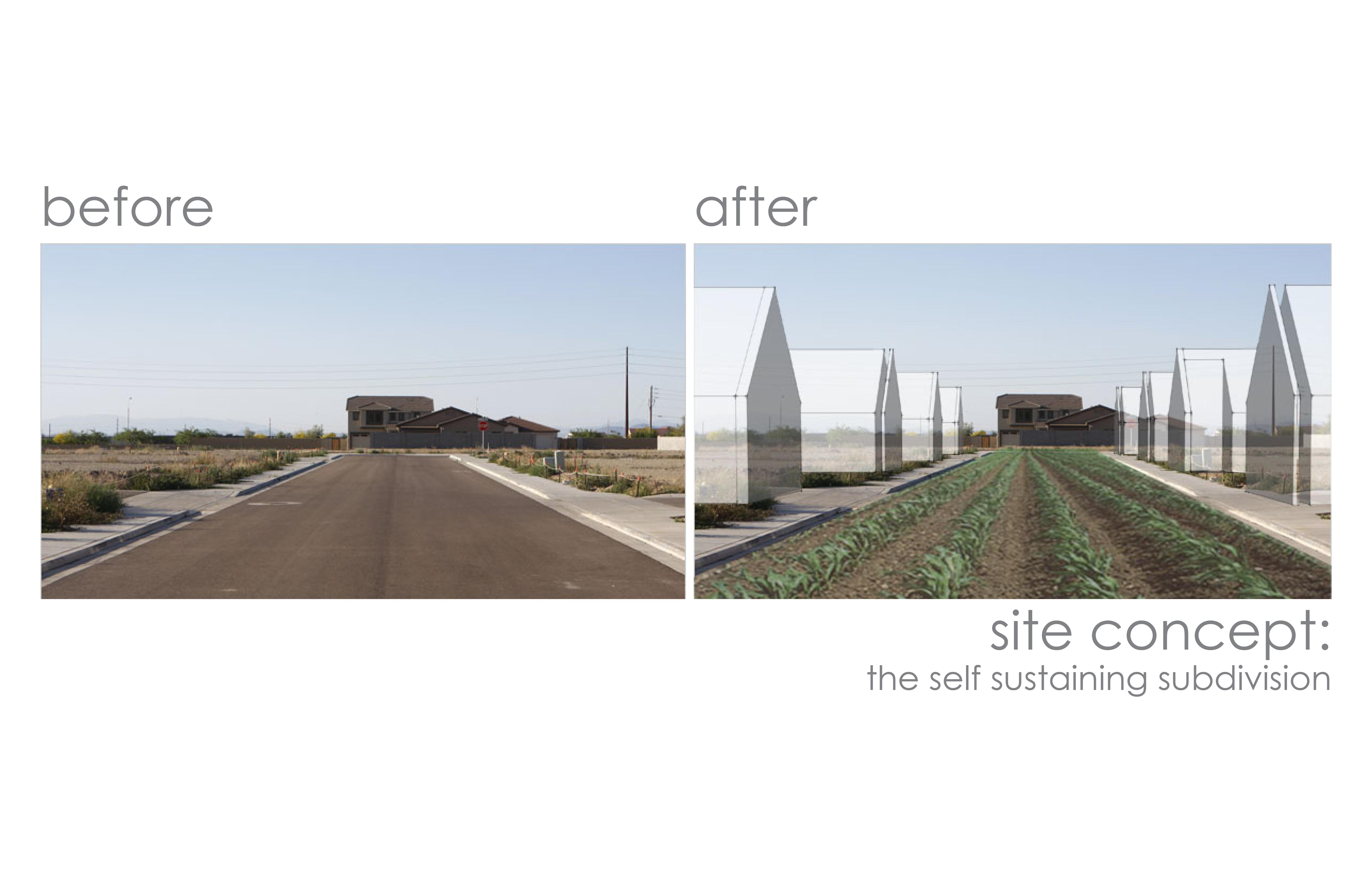 Cul-de-sac Agriculture