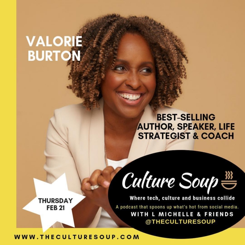 Ep 17: Writing, Speaking & Inspiring  with Valorie Burton