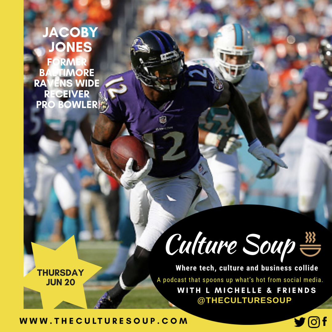Ep 36: The Real Life Lessons of Football with Jacoby Jones