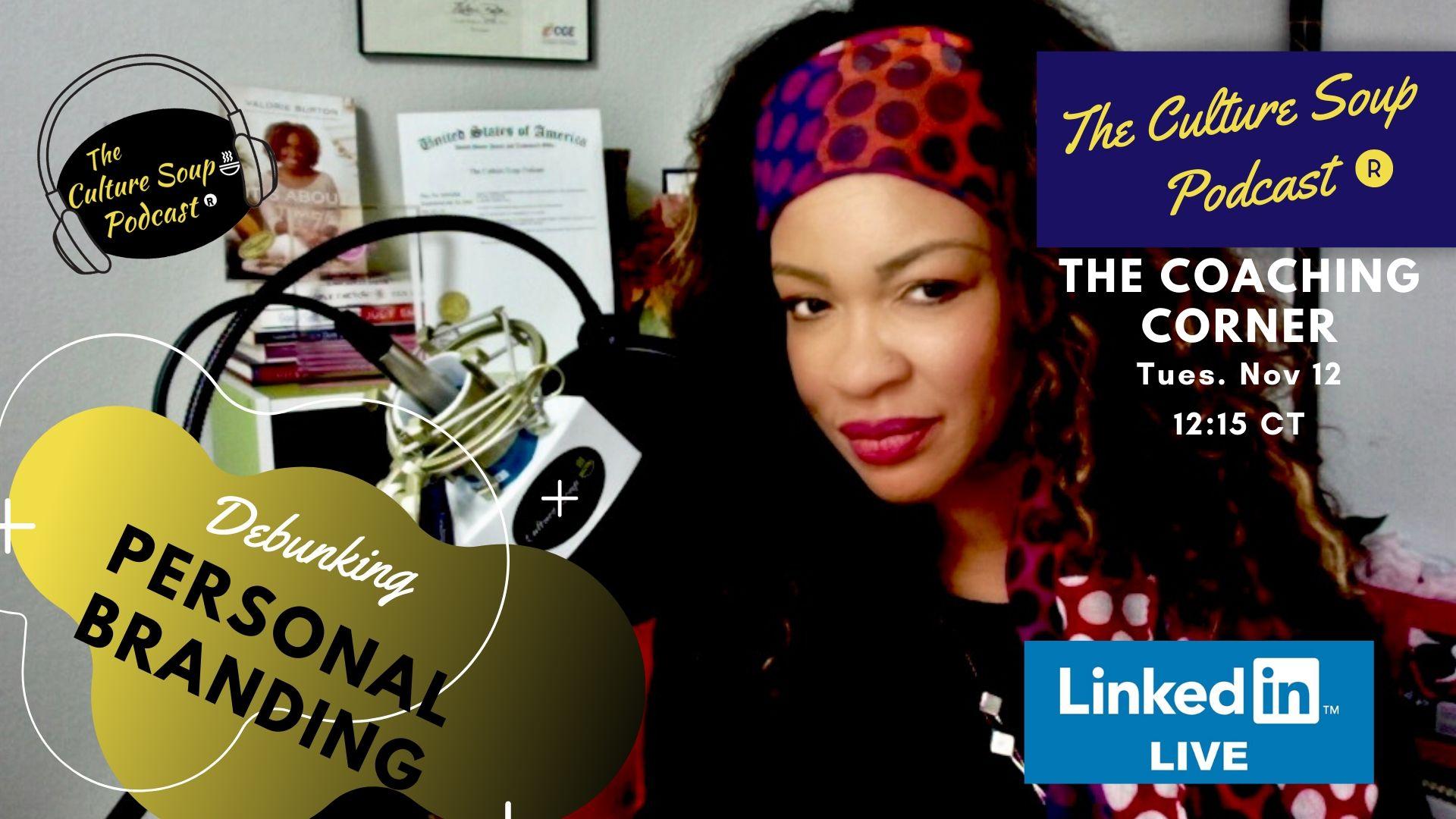 Ep 63: #LinkedinLIVE #TCSPCoachingCorner Premiere Episode