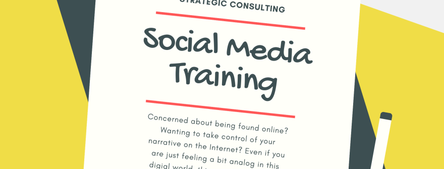 NSC Strategic Consulting Introduces 1:1 Social Media Training