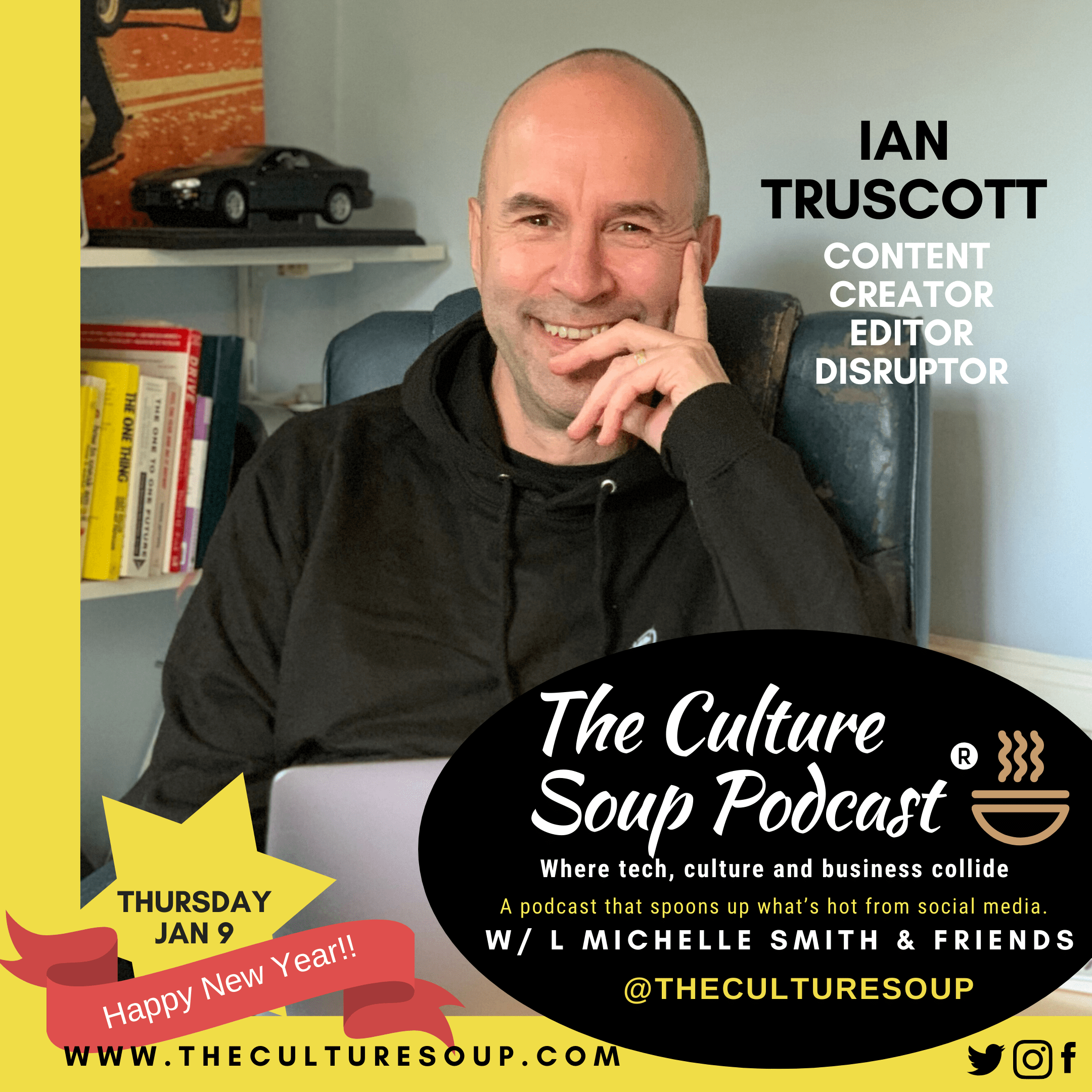 Ep 73: Looking into Marketing's Crystal Ball with Ian Truscott