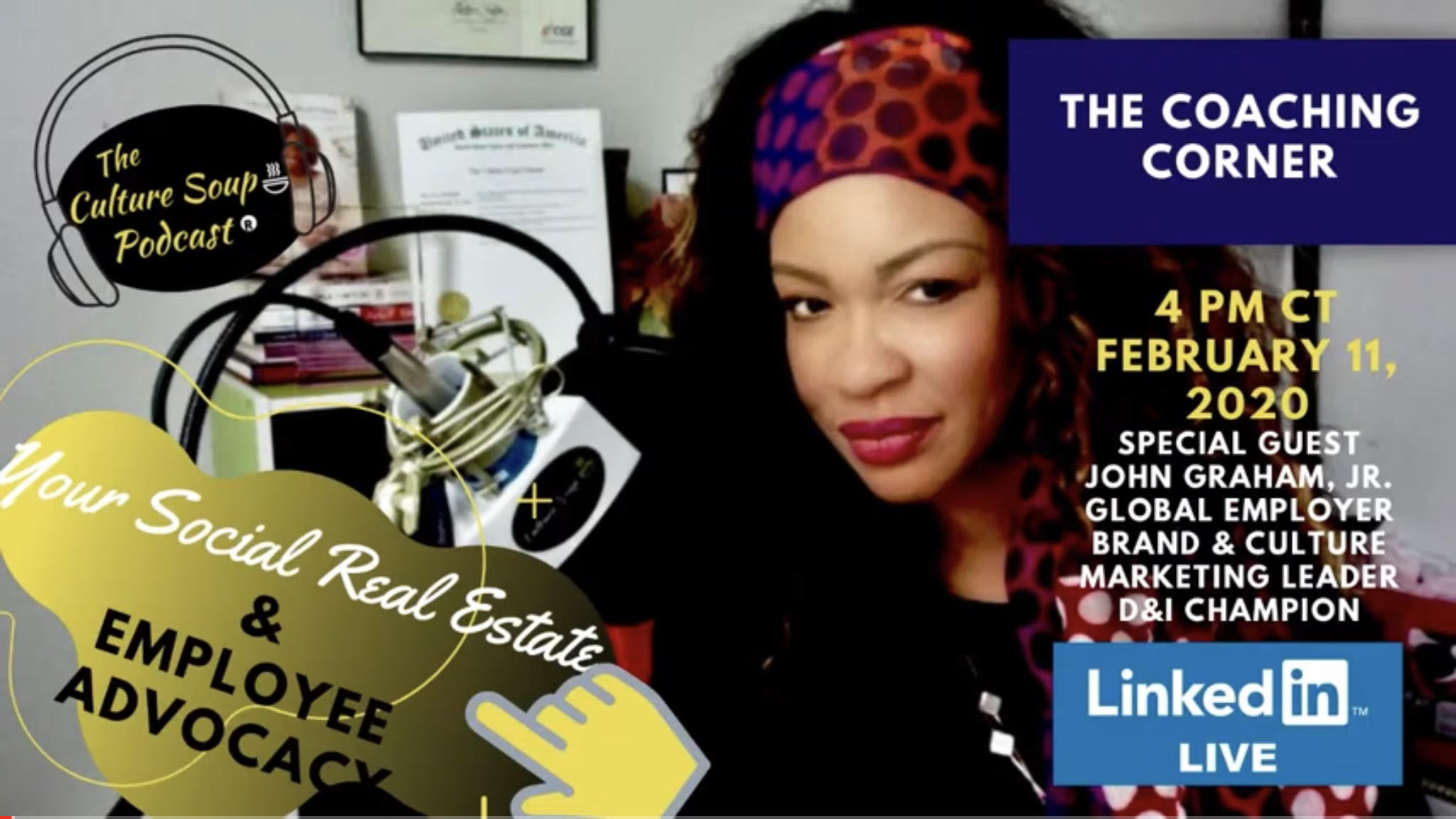 Ep 79: #TCSPCoachingCorner on #LinkedInLIVE