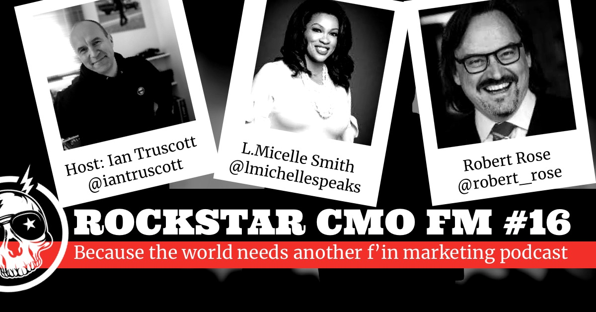 LMS on Rockstar CMO FM Podcast