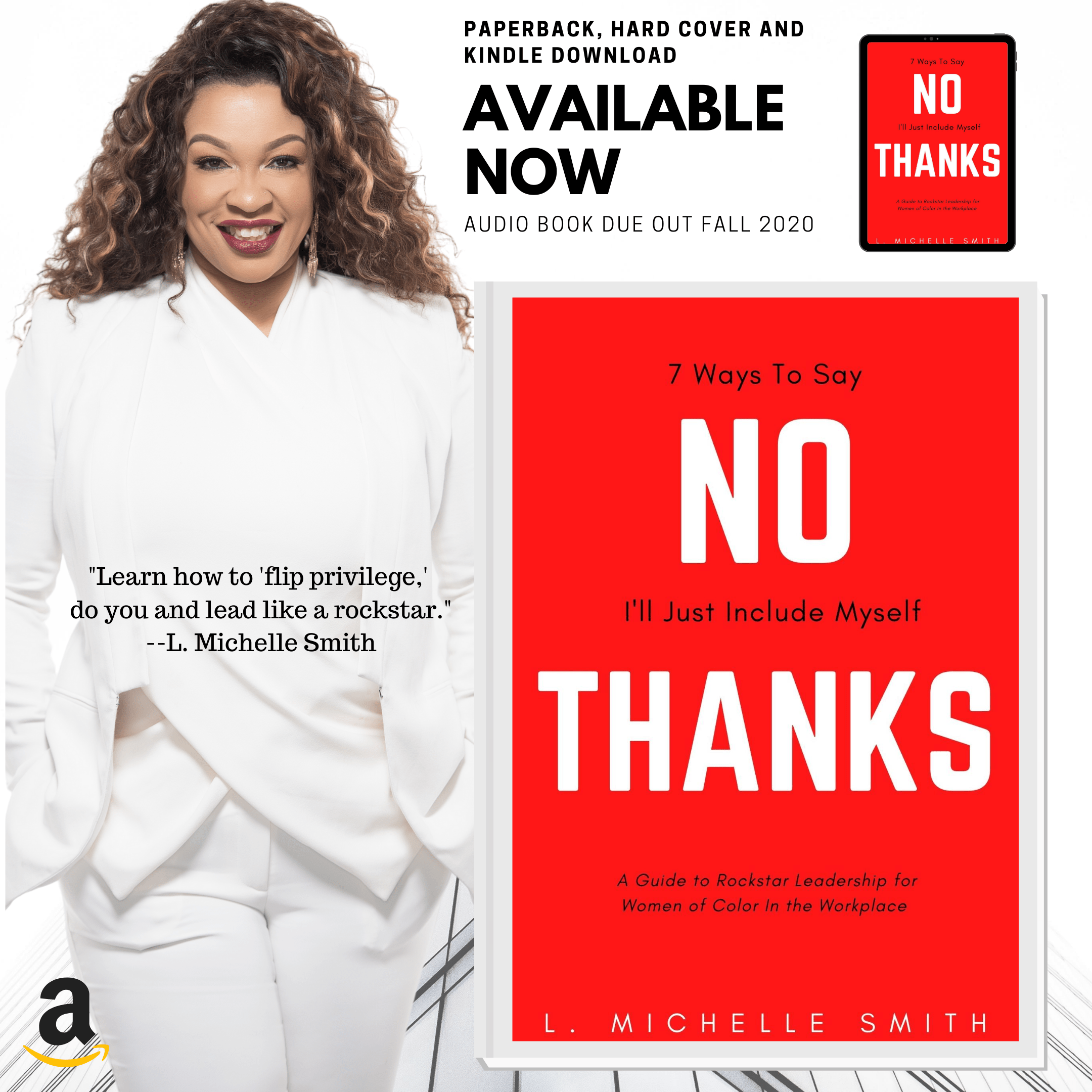 NEW BOOK: No Thanks, 7 Ways to Say I'll Just Include Myself