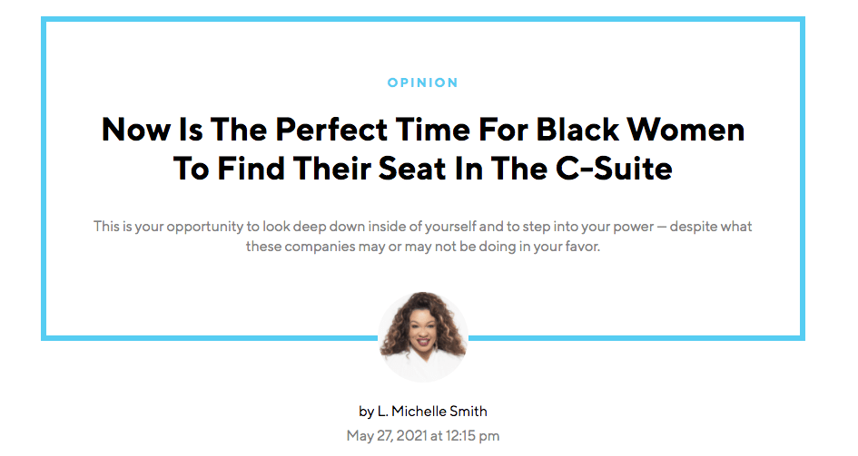 BLAVITY: Now is the perfect time for Black Women to find their Seat in the C-Suite