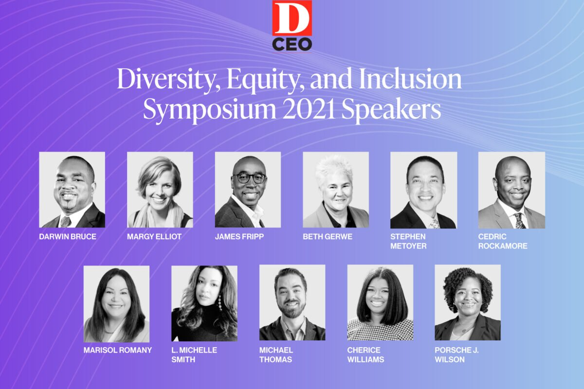 Get Your Ticket! – D CEO's 2021 Diversity, Equity, and Inclusion Symposium