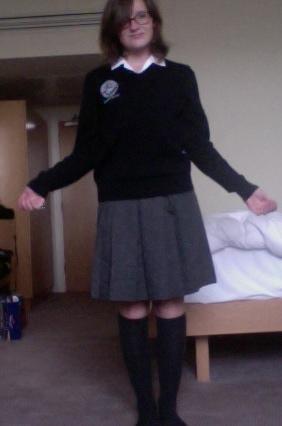 My SAC uniform-5th year