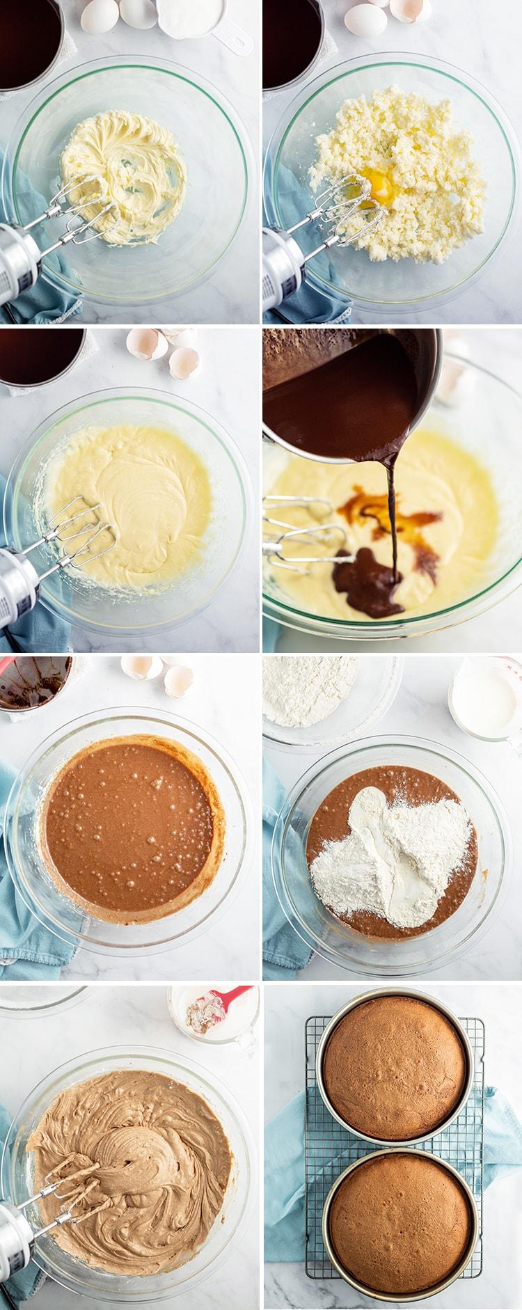step by step photos how to make a german chocolate cake