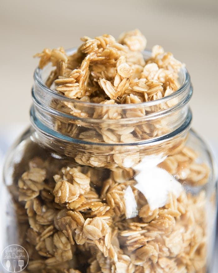Such an easy granola recipe