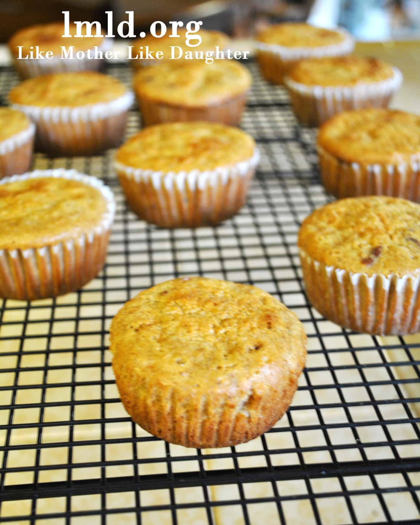 carrot cake muffin 3