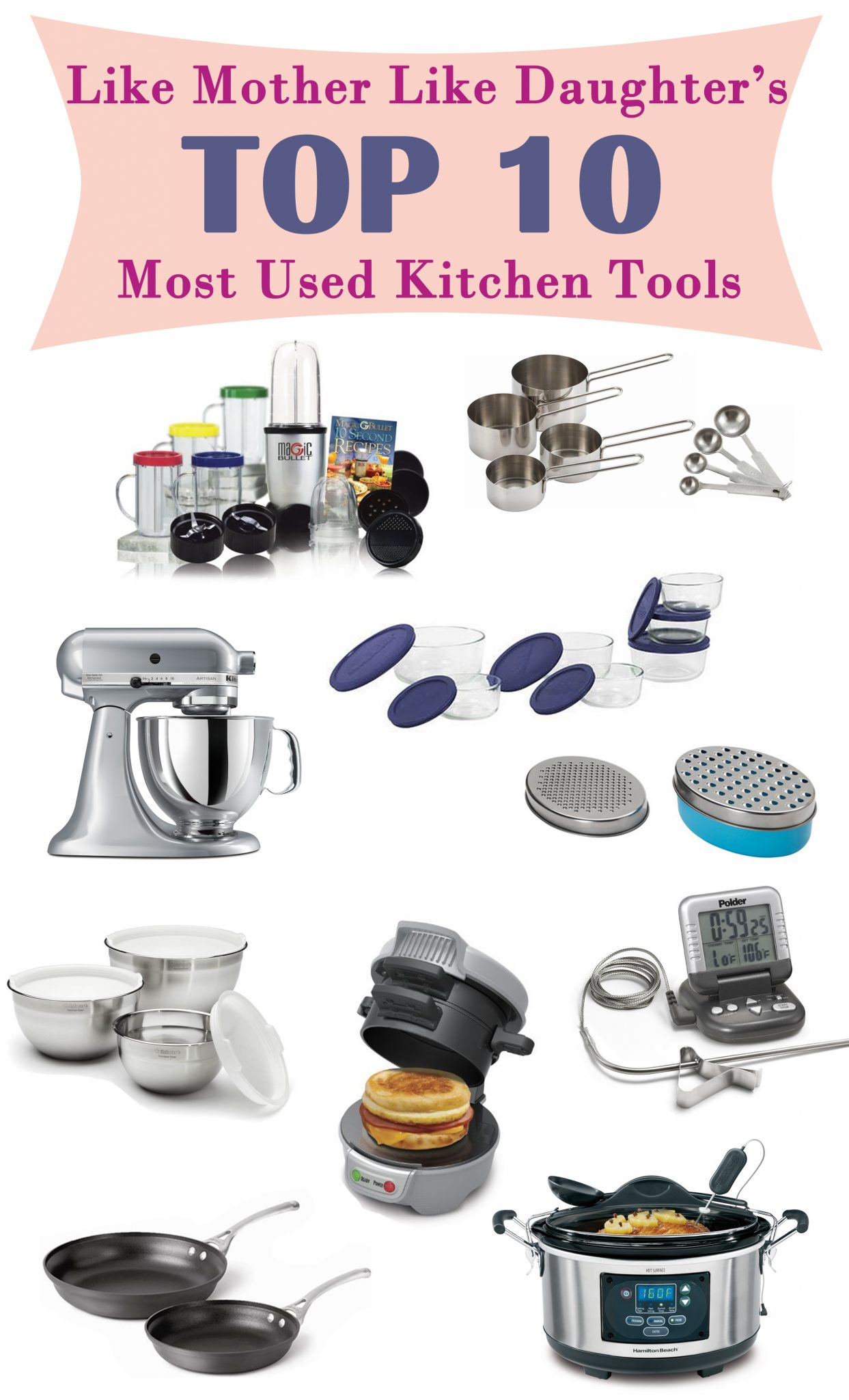 10 Kitchen And Home Decor Items Every 20 Something Needs: Top 10 Kitchen Tools Used In LMLD Kitchens