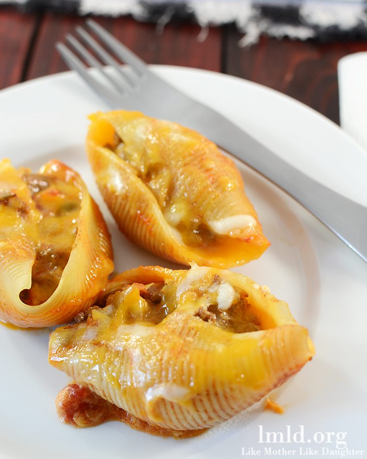 Mexican Stuffed Shells | Christmas Potluck Recipes for Your Office Party | Homemade Recipes