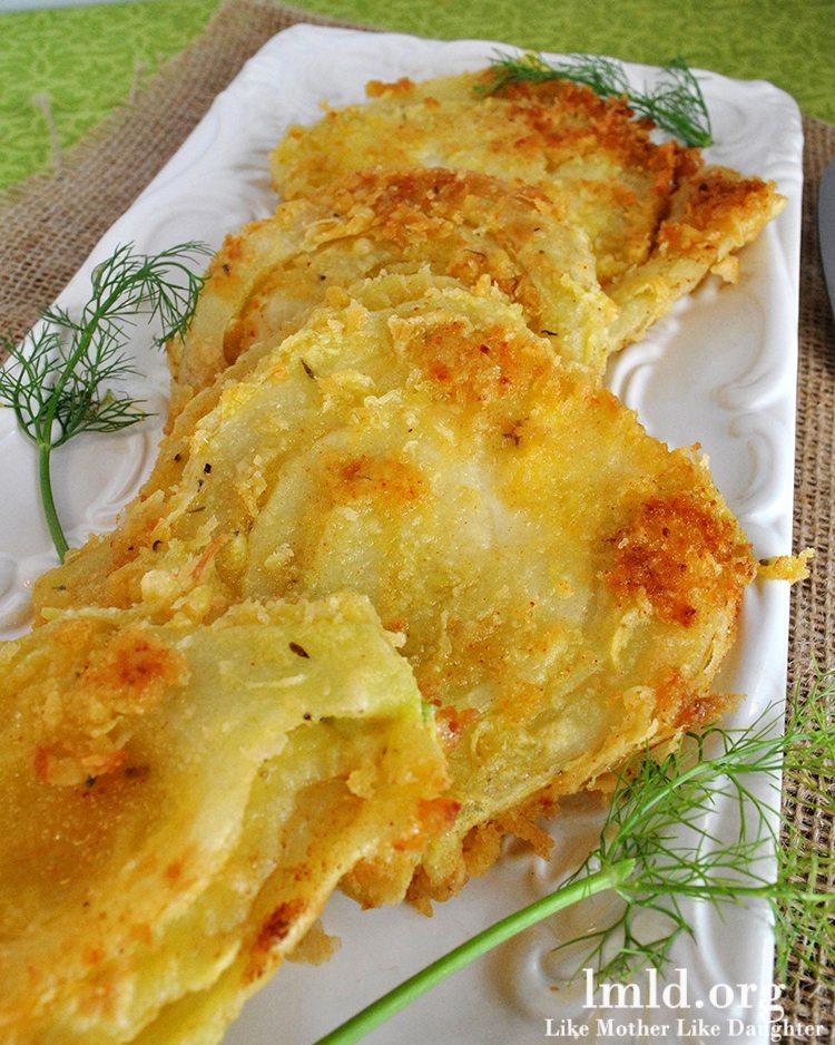 breaded fennel