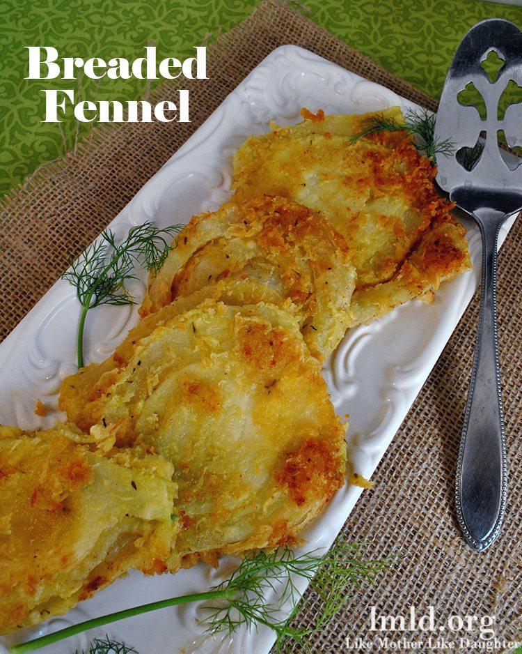 breaded fennel