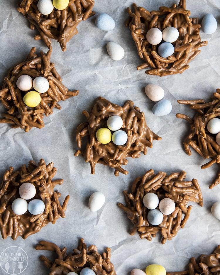 Bird Nest Chow Mein Nests